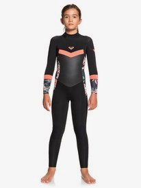 4/3mm Syncro - Back Zip Wetsuit for Girls 8-16  ERGW103032