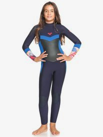 4/3mm Syncro - Back Zip Wetsuit for Girls  ERGW103044