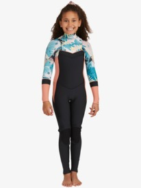 3/2mm Syncro - Chest Zip Wetsuit for Girls  ERGW103045