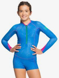 1mm POP Surf - Long Sleeve Front Zip Springsuit for Girls 8-16  ERGW403014