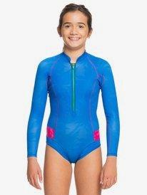 1mm POP Surf - Long Sleeve Front Zip Springsuit for Girls 8-16  ERGW403015