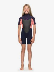 2/2mm Prologue - Short Sleeve Back Zip Springsuit for Girls 8-16  ERGW503008