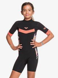 2/2mm Syncro - Back Zip Short Sleeve Springsuit for Girls 8-16  ERGW503010