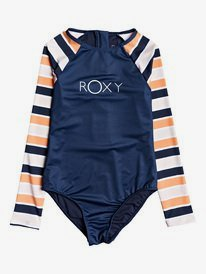 Made For ROXY - Long Sleeve Zipped UPF 50 One-Piece Rashguard  ERGWR03188