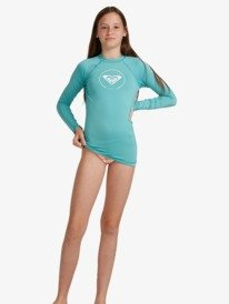 Beach Classics - Long Sleeve UPF 50 Rash Vest for Girls 8-16  ERGWR03200