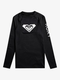 Whole Hearted - Long Sleeve UPF 50 Rash Vest for Girls 8-16  ERGWR03205