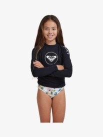 Beach Classics - Long Sleeve UPF Rash Vest for Girls 8-16  ERGWR03221