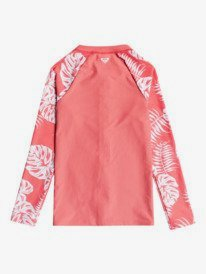 California Friends - Long Sleeve UPF 50 Zipped Rashguard for Girls 8-16  ERGWR03229