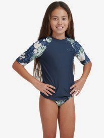 ROXY - Short Sleeve Rashguard for Girls 8-16  ERGWR03234