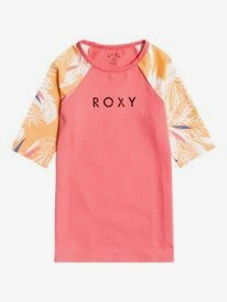 ROXY - Short Sleeve Rashguard for Girls 8-16  ERGWR03241