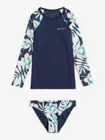 Hawaii Story - Long Sleeve UPF 50 Rashguard Set for Girls 8-16  ERGWR03242