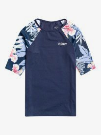 Summer Good Wave - Short Sleeve UPF 50 Rash Vest for Girls  ERGWR03273