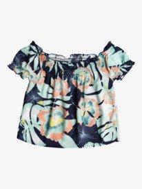 Elastic Heart Print - Short Sleeve Top for Girls 4-16  ERGWT03088