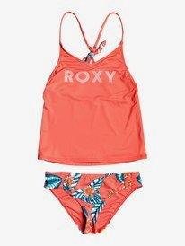 Floral Time - Tankini Bikini Set for Girls 8-16  ERGX203246