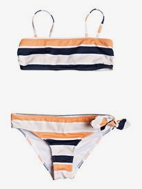 Made For ROXY - Bandeau Bikini Set for Girls 8-16  ERGX203266