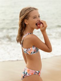 Love Is Big - Crop Top Bikini Set for Girls 8-16  ERGX203306
