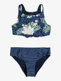 Heaven Wave - Crop Top Bikini Set for Girls 8-16  ERGX203347