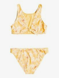 Colorful Party - Recycled Reversible Crop Top Bikini Set for Girls 8-16  ERGX203361