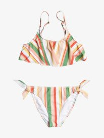 Colorful Party - Recycled Flutter Bikini Set for Girls 8-16  ERGX203362