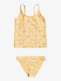 Colorful Party - Recycled Tankini Bikini Set for Girls 8-16  ERGX203363