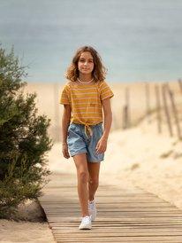 Apple Juice B - Tie-Front T-Shirt for Girls 4-16  ERGZT03673