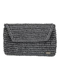 Timeless Tide - Straw Clutch Bag  ERJAA03831