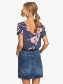 Baywatch Girl - Buttoned Denim Skirt for Women  ERJDK03018