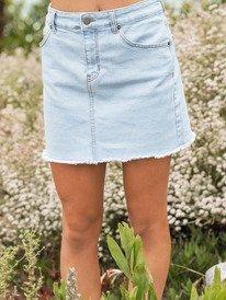 Surfing Girl Power - Denim Skirt for Women  ERJDK03019