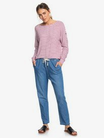 Coffee Blues - Beachy Tapered Denim Jeans for Women  ERJDP03218
