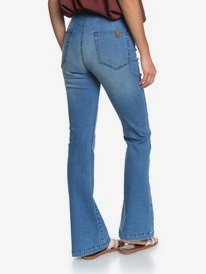 Wild Blossom - Flared Jeans for Women  ERJDP03245
