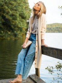 Vertical Rhythm - Straight Fit Jeans for Women  ERJDP03257