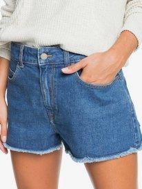 Kissing The Swell - Denim Shorts for Women  ERJDS03241