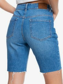 Midnight Circle - Denim Bermuda Shorts for Women  ERJDS03256