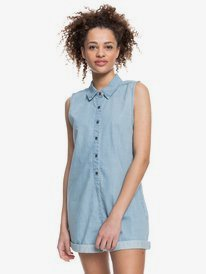 Stellar Swell - Denim Playsuit for Women  ERJDS03257
