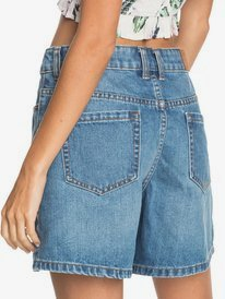 Morning Splendour - Denim Bermuda Shorts for Women  ERJDS03260