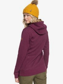 Dipsy - Technical Quilted Hoodie for Women  ERJFT03971