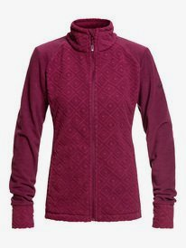 Surface - Zip-Up Mock Neck Fleece for Women  ERJFT03978
