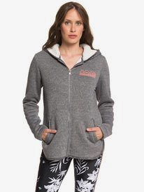 Slopes Fever B - Zip-Up Sherpa-Lined Hooded Fleece for Women  ERJFT04092