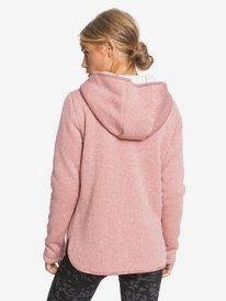 Slopes Fever - Zip-Up Polar Fleece Hoodie for Women  ERJFT04272