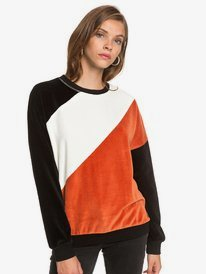 Surf Spot - Velour Sweatshirt for Women  ERJFT04281