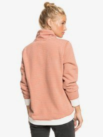 Boat Trip Stripes - Funnel Neck Sweatshirt for Women  ERJFT04288