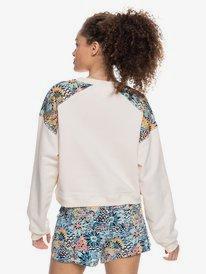 Marine Bloom Neck - Sweatshirt for Women  ERJFT04411