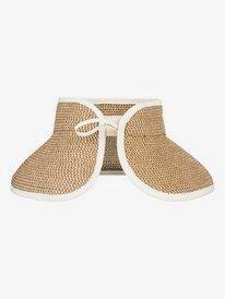 Kiss The Ocean - Capeline Straw Hat for Women  ERJHA03495