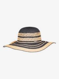 Salt Water Happiness - Straw Sun Hat for Women  ERJHA03826