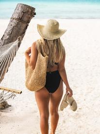 Soja Addict - Straw Sun Hat for Women  ERJHA03934
