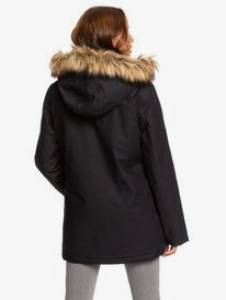Travelling West - Hooded Parka Jacket for Women  ERJJK03308