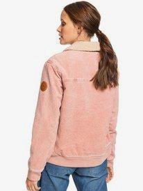 Desert Sands - Sherpa-Lined Corduroy Jacket for Women  ERJJK03319