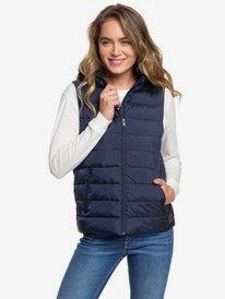Water-Repellent Weekend Hike - Hooded Puffer Vest for Women  ERJJK03342