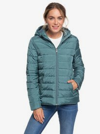 Rock Peak - Water-Repellent Hooded Puffer Jacket for Women  ERJJK03361