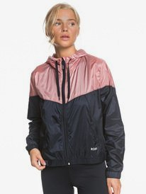 Take It This - Hooded Cropped Windbreaker for Women  ERJJK03385